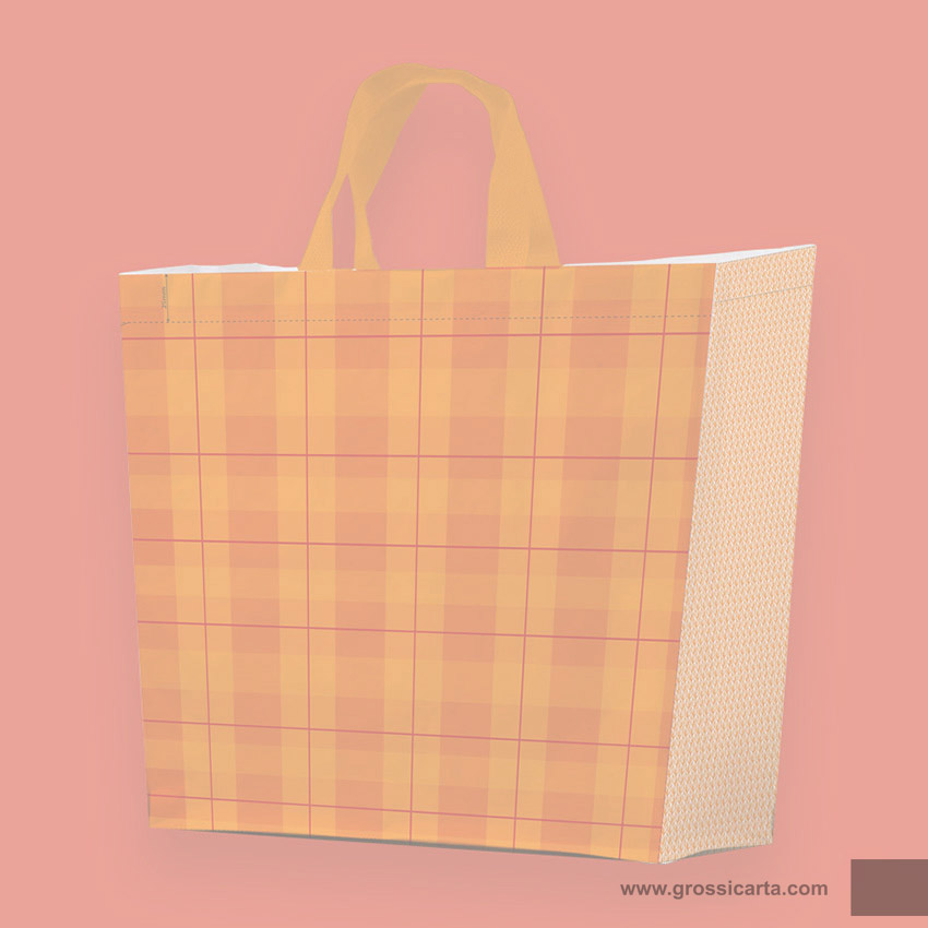 Shopper PPW ''collage arancio'' - <strong>SOLD OUT</strong>