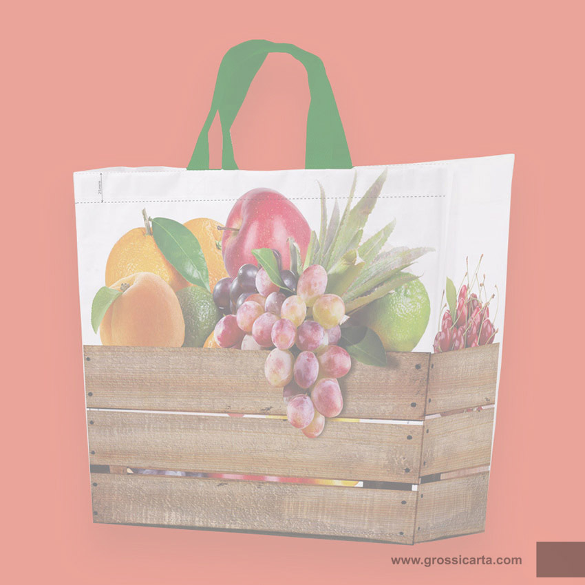 Shopper PPW ''frutta & verdura'' - <strong>SOLD OUT</strong>