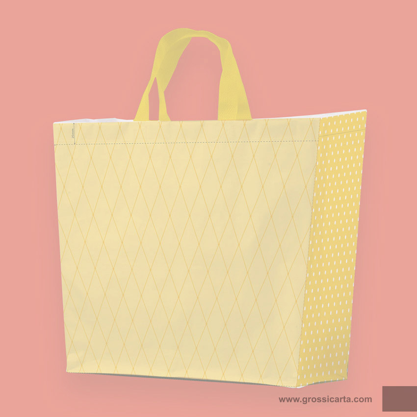 Shopper PPW ''collage giallo'' - <strong>SOLD OUT</strong>