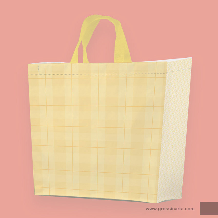 Shopper PLP ''collage giallo'' - <strong>SOLD OUT</strong>