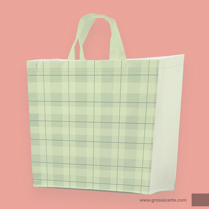Shopper PPW ''collage verde'' - <strong>SOLD OUT</strong>