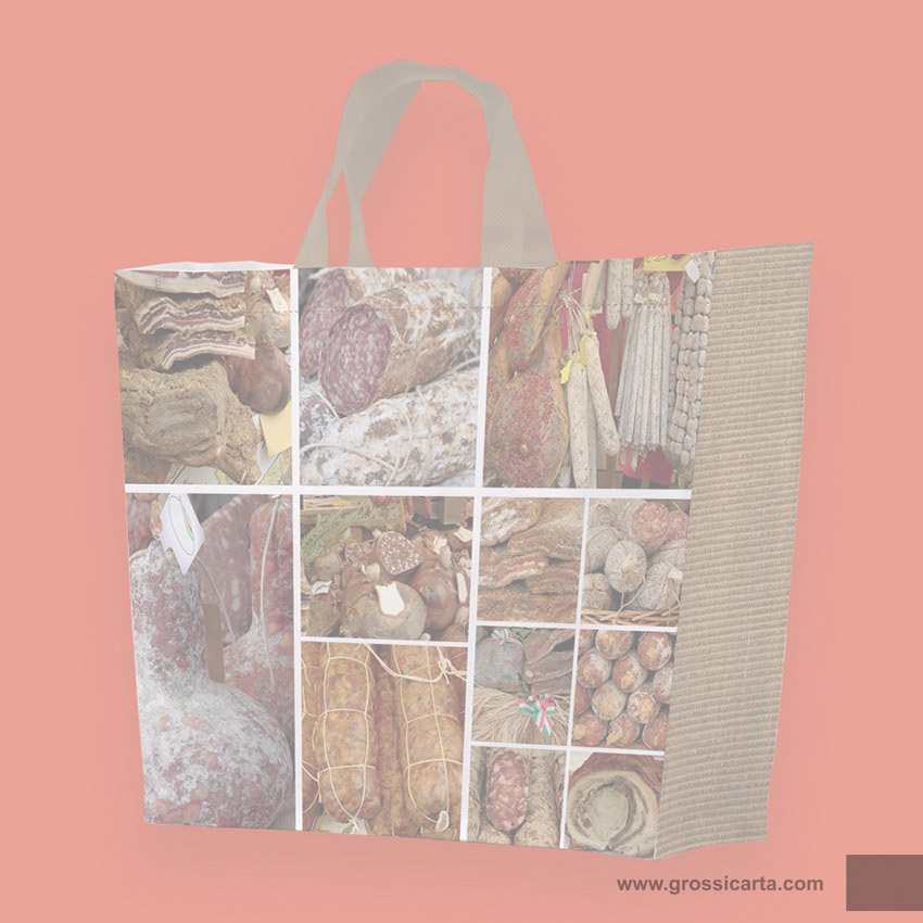 Shopper PPW ''salumi e formaggi collage'' - <strong>SOLD OUT</strong>