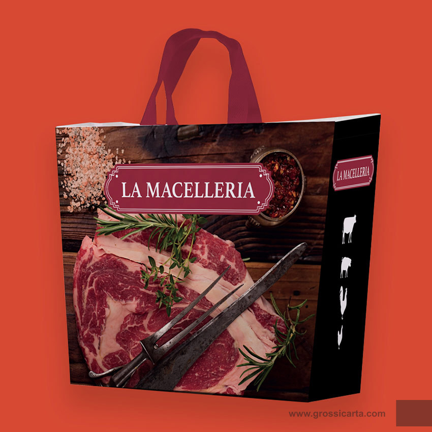 Shopper PLP ''la macelleria''
