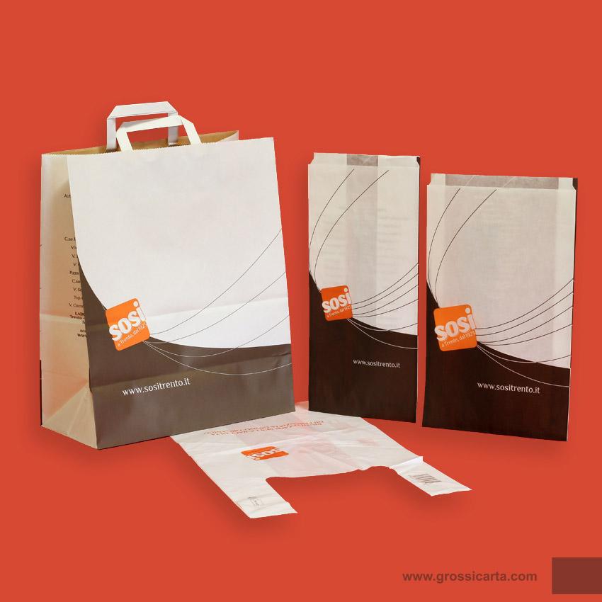 Favorito Sacchetti in carta, vendita e consegna all'ingrosso, 1 KP89