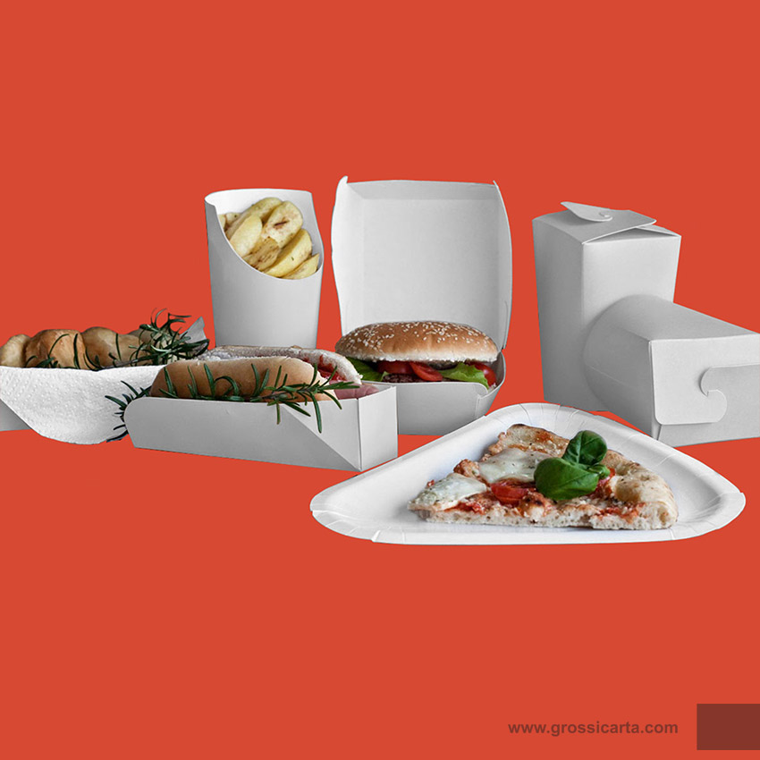 Linea take away bianco